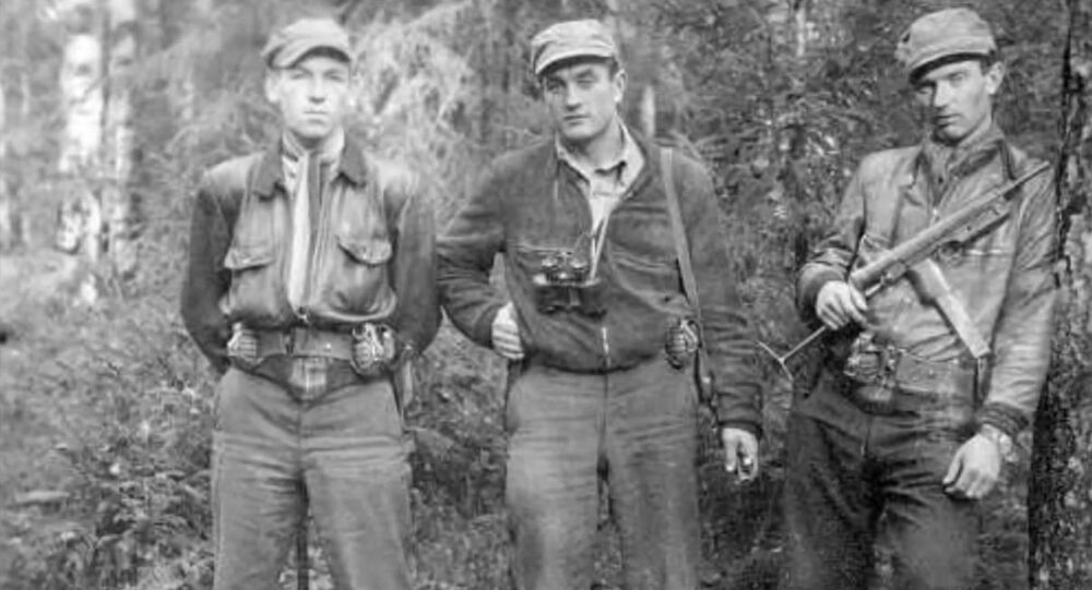 Lithuanian Forest Brothers partisans