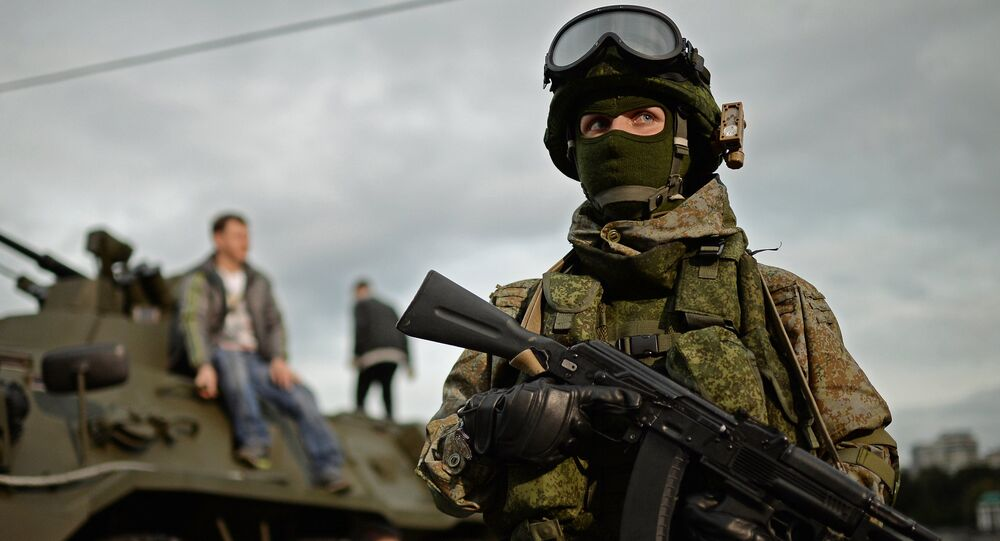 The Russian army's Ratnik uniform kit