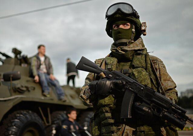 The Russian army's Ratnik uniform kit