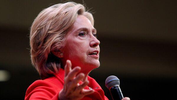 Democratic presidential candidate Hillary Rodham Clinton - Sputnik International