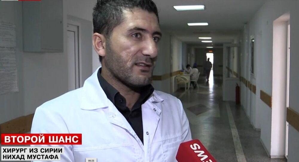 Syrian doctor Nikhad Mustafa