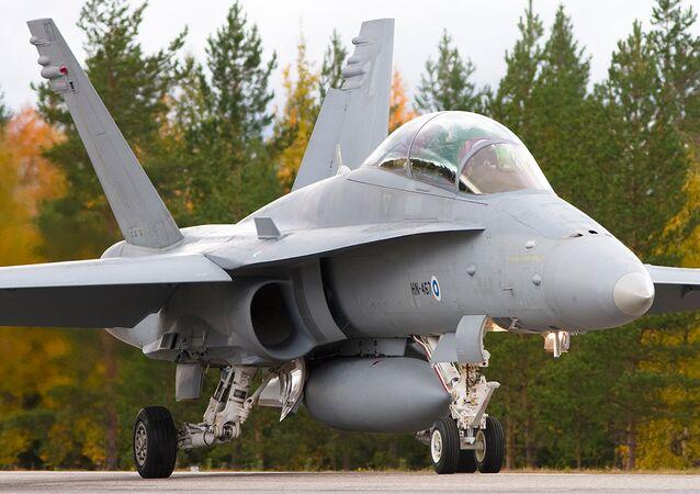 FiAF F/A-18 Hornet