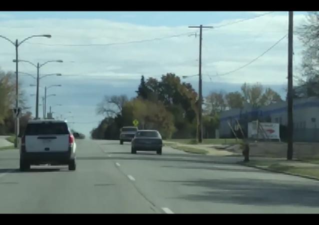 Idiot Driving Backwards.