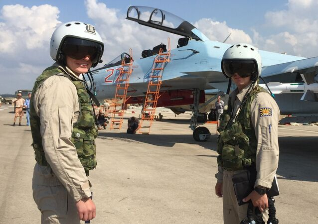 Russian tactical group seen at Hmeymim aerodrome in Syria