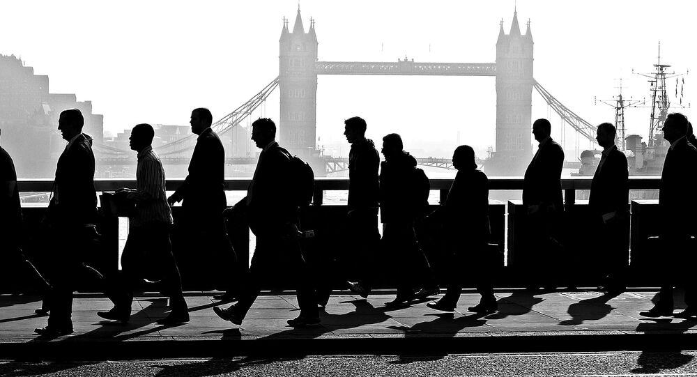 Businessmen, London
