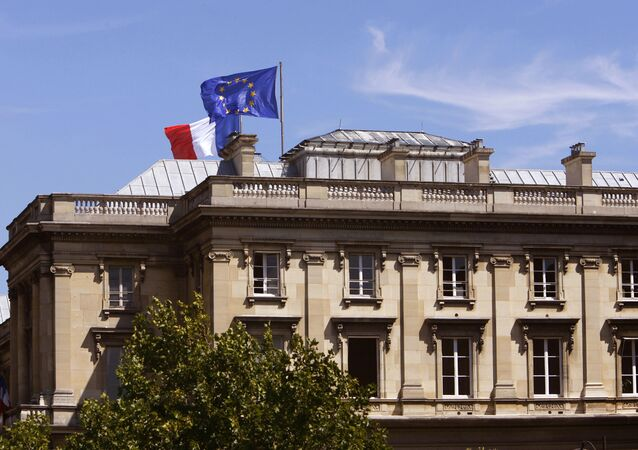 Foreign affairs minister building in Paris