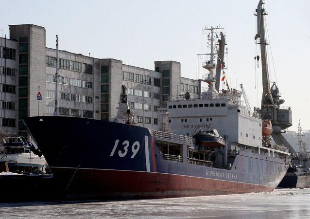 Eastern Shipyard in the Primorye Territory