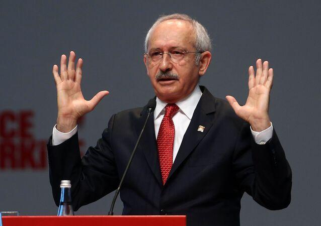Kemal Kilicdaroglu, leader of Turkey's main opposition Republican People's Party (CHP)