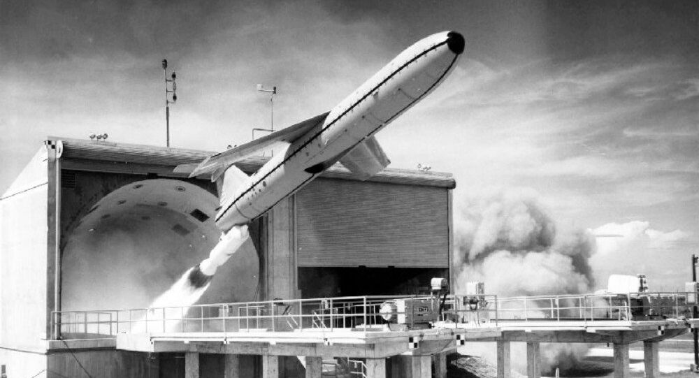 CGM-13 test launch at Cape Canaveral