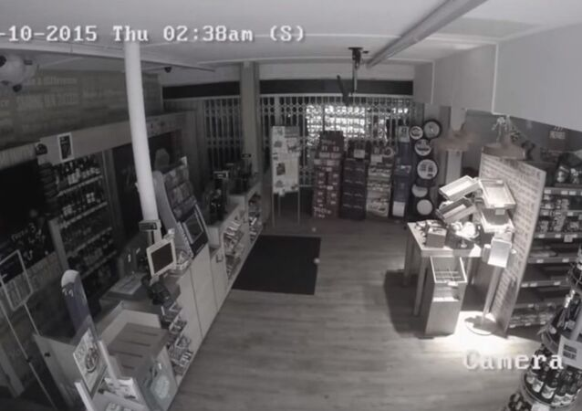 Spooky video shows 'poltergeist' hurling food off shelves in 'haunted' Co-op store