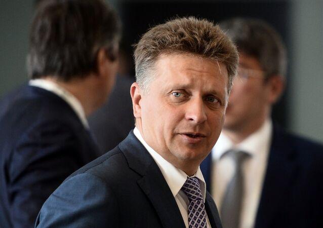 Russian Transport Minister Maxim Sokolov