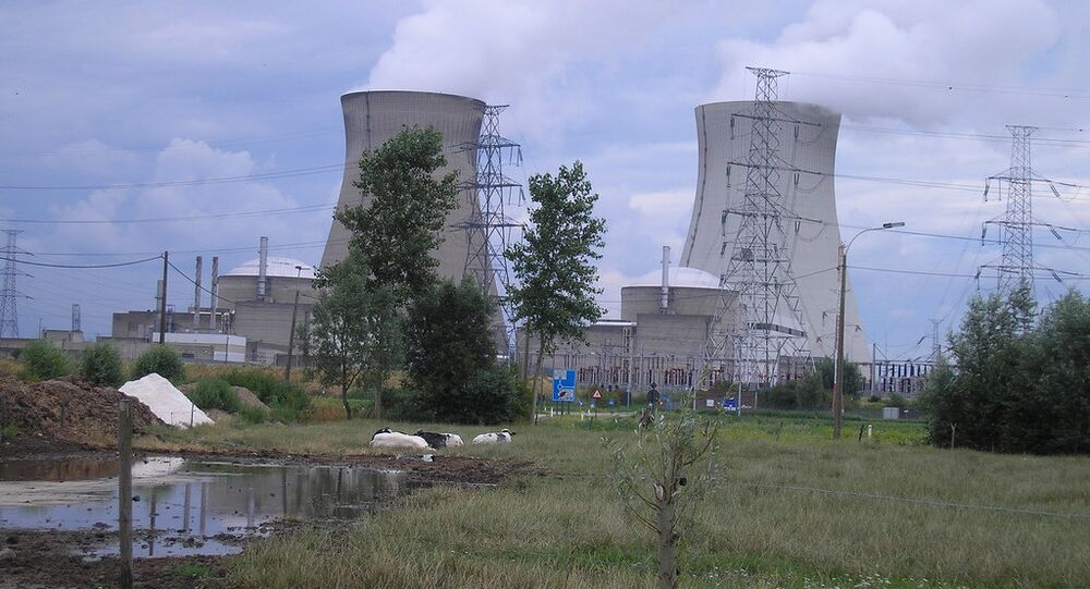 Doel , nuclear power-station
