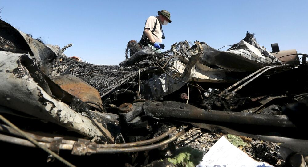 First Footage From Crash Site of Russian Plane in Sinai (VIDEO)