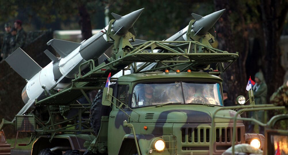 Anti-missile weapons of the Serbian Army