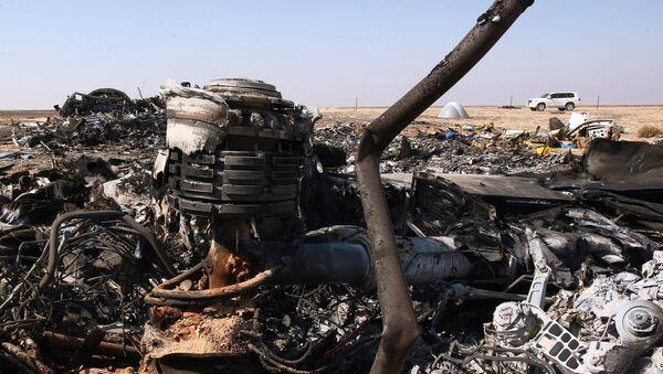 Airbus A321 crash site in Egypt - Sputnik International