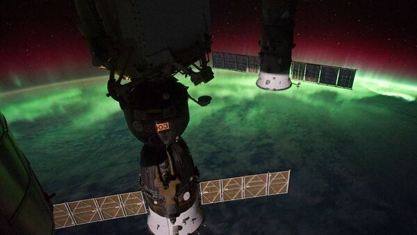 Aurora Australis Over New Zealand, Tasman Sea (NASA, International Space Station, 09/17/11) - Sputnik International