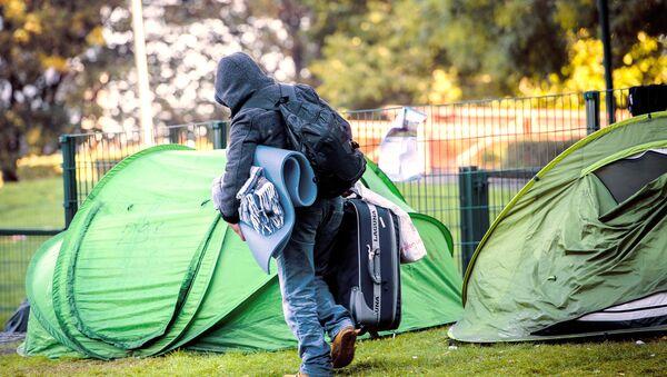 Refugee in Belgium - Sputnik International