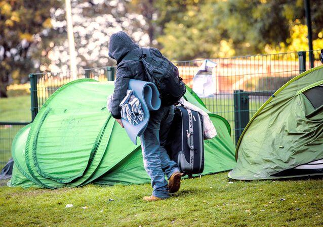 Refugee in Belgium