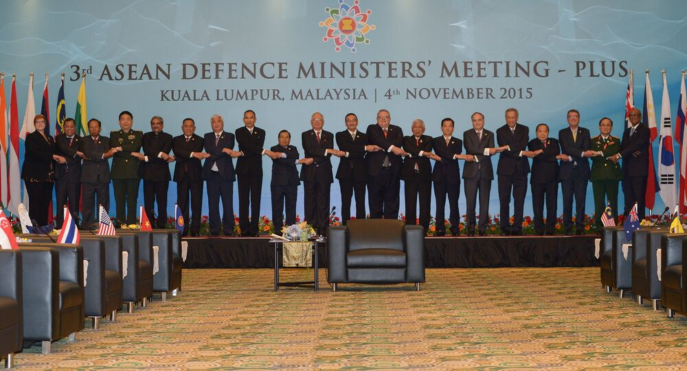 Association of Southeast Asian Nations (ASEAN) Defence Ministers-PLUS meeting in Subang, on the outskirts of Kuala Lumpur