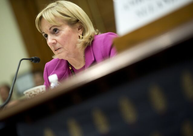 Assistant Secretary of State for Near Eastern Affairs Anne Patterson testifies on Capitol Hill in Washington, Wednesday, Nov. 4, 2015, before the House Foreign Affairs Committee hearing on Syria.