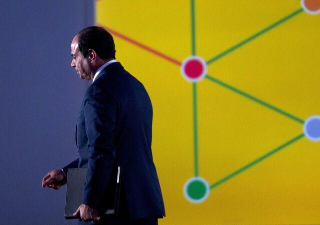 Egyptian President Abdel Fattah Al Sisi.