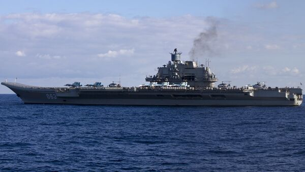 RFS Admiral Kuznetsov - Sputnik International