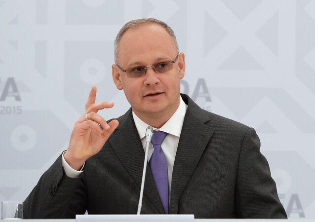 Briefing by Anton Kobyakov, Russian Presidential Adviser. File photo