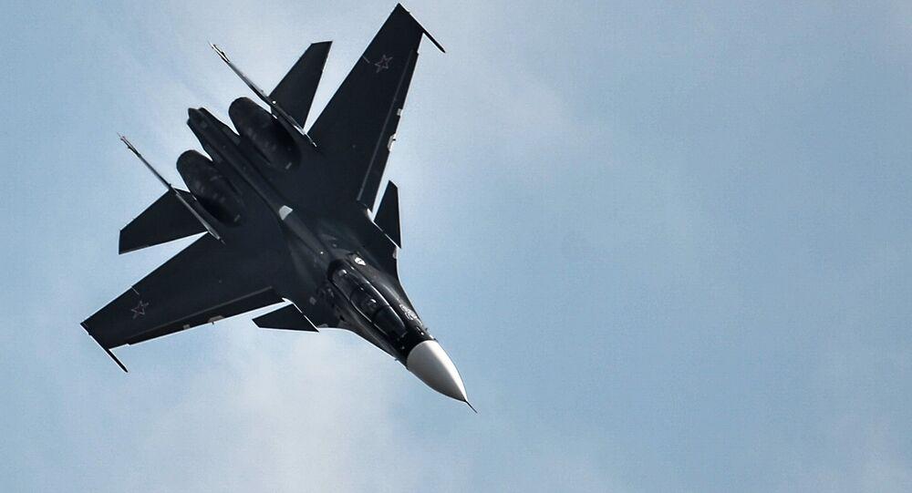 Su-30SM fighter jet