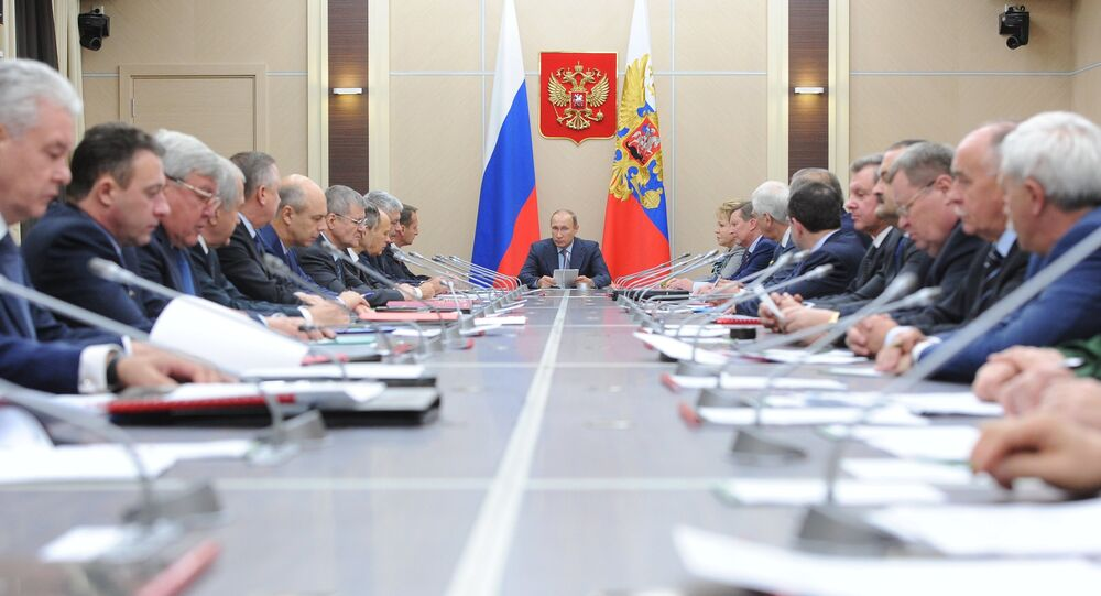 President Putin chairs meeting of Russia's Security Council