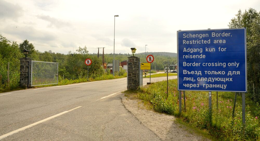 Kirkenes, at the border between Norway and Russia