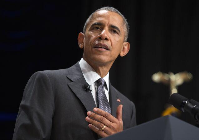 President Barack Obama speaks at the 2015 White House Tribal Nations Conference, Thursday, Nov. 5, 2015, in Washington