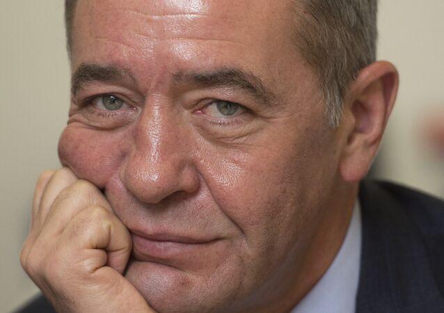 Former Russian Press Minister and ex-head of Gazprom-Media Mikhail Lesin
