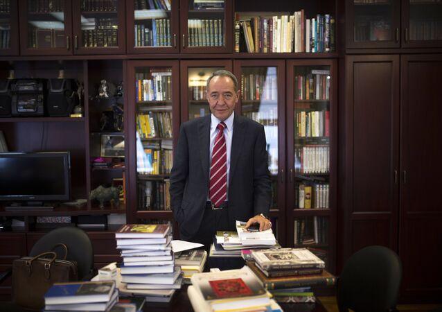 Gazprom-Media General Director Mikhail Lesin