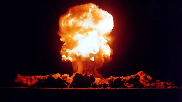 US nuclear weapons test in Nevada in 1957 - Sputnik International