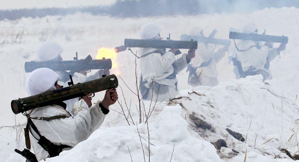 Air Landing troops exercise in Ryazan Region