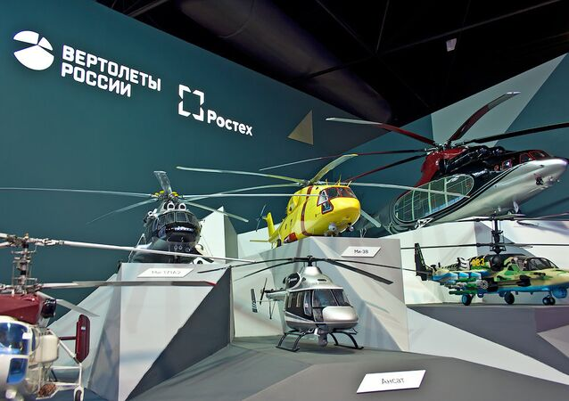 Russian Helicopters on MAKS-2015