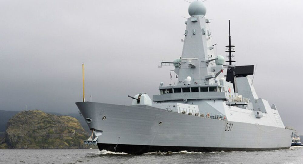 Type 45 Destroyer HMS Duncan