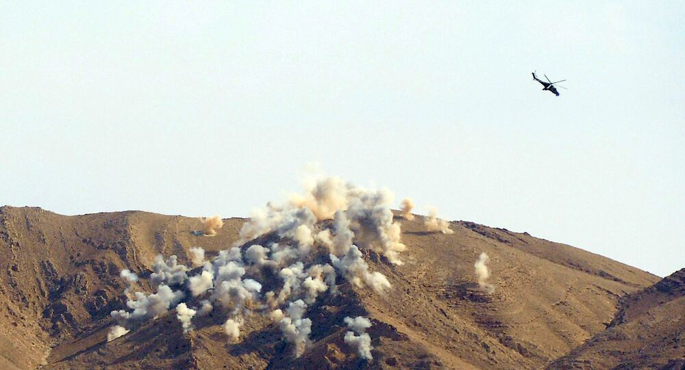 Airstrikes in the vicinity of the ancient Syrian city of Palmyra destroyed the headquarters of two terrorist groups - Daesh and al-Nusra Front, state media reported on Sunday.