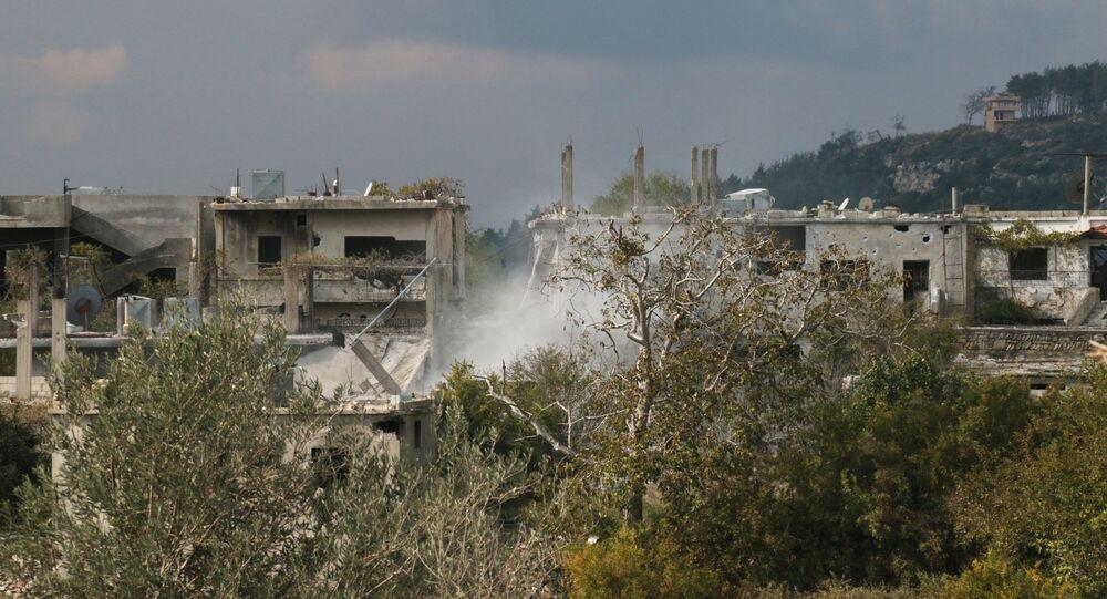 The village of Gmam, Latakia Province
