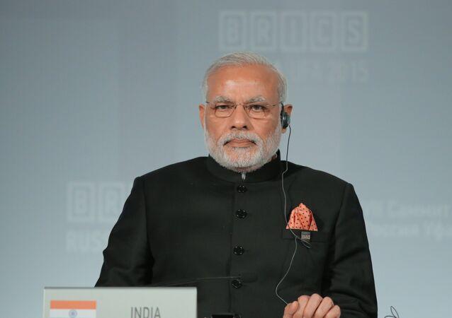 Prime Minister of the Republic of India Narendra Modi.