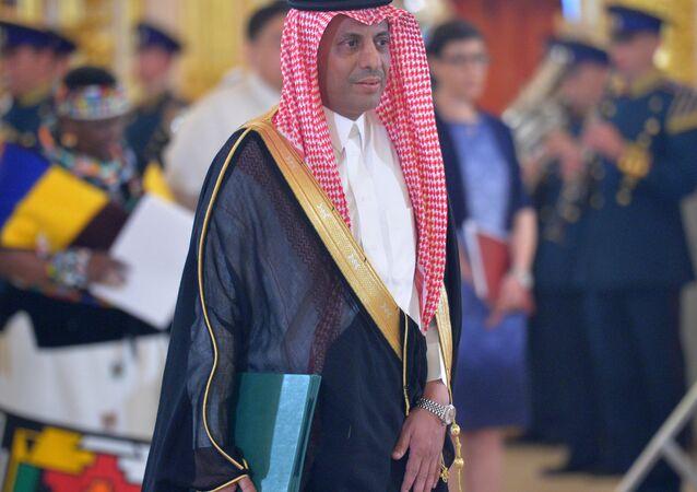 Saudi Arabia's Ambassador Abdulrahman bin Ibraheem Al-Rassi