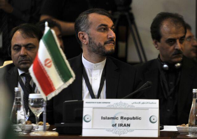 Iranian Deputy Foreign Minister Hossein Amir-Abdollahian.