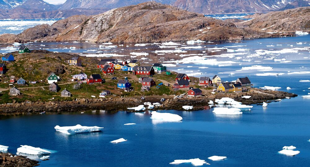 Village of Kulusuk, Greenland
