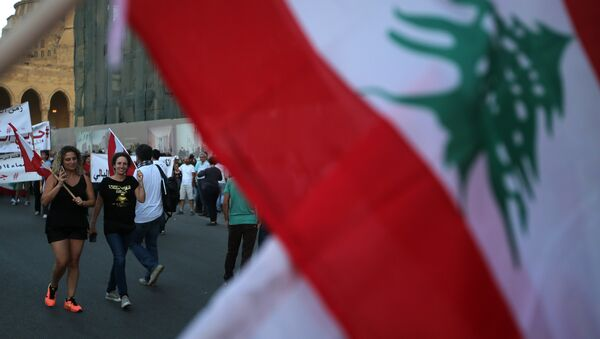 A Lebanese flag - Sputnik International