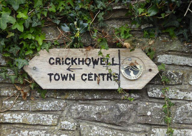 Crickhowell town center