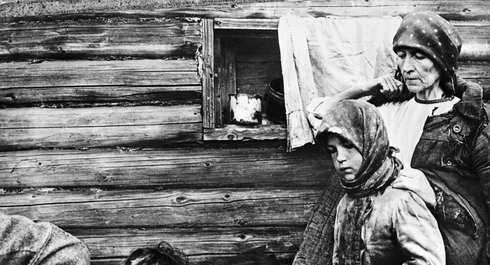 Hunger in Ukraine, 1932.
