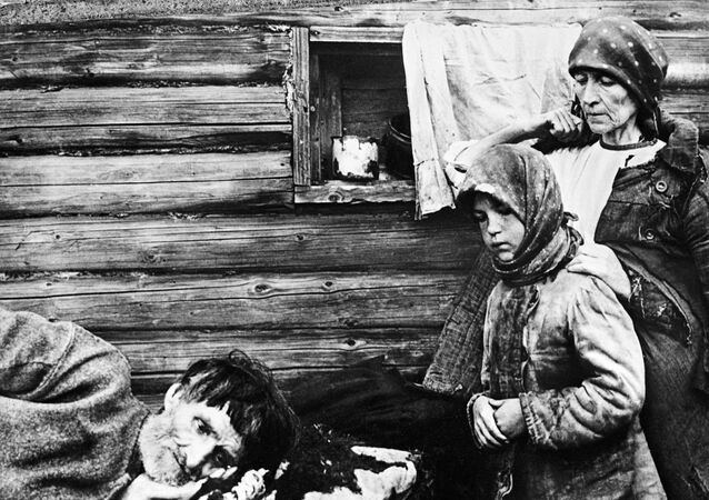 Hunger in Ukraine, 1932.