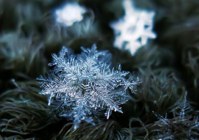 Snowflake macro: snowfall