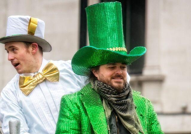St Patrick's day in London