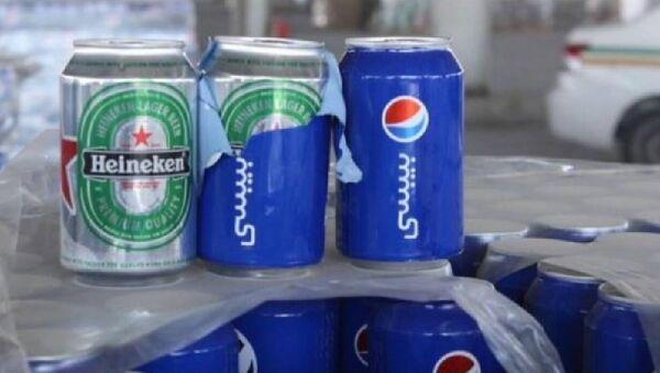 Saudi Arabia Seizes 48,000 Cans of Beer Disguised as Pepsi - Sputnik International